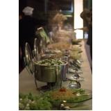 buffet para casamento rústico