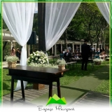 buffet para eventos de casamento Ponte Rasa