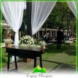 buffet para eventos de casamento Água Rasa