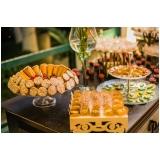 buffet para festa de 50 anos preços Vila Mazzei