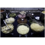 buffet para festa de aniversário de casamento Pompéia