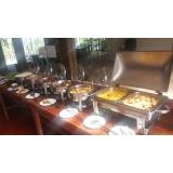buffet para festa de bodas de casamento preços Parque São Lucas