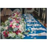 buffet para festa de casamento rústico valores Parque Anhembi