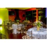 buffet para festa de casamento rústico Brasilândia