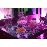 buffet para festa de debutante orçamento Água Rasa