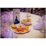 buffet para festa debutante orçamento Casa Verde