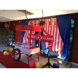 buffet para festa infantil preços Mooca