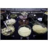 buffet rustico para casamento Anália Franco