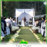 casamento no sítio Vila Prudente