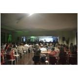 espaço de festa para palestra Caieiras