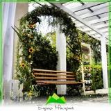 espaço para casamento ao ar livre preço Vila Mazzei