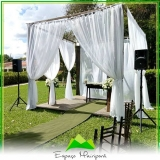 espaço para casamento com buffet Parque do Carmo