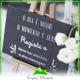 espaço para casamento festa preço Parque São Domingos
