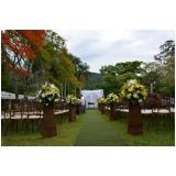 espaço para festa de mini wedding orçamento Casa Verde
