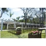 espaço para festa de mini wedding José Bonifácio