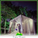 espaços para casamento no campo Jardim Guarapiranga