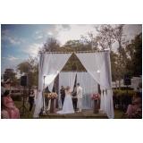 festa de casamento ao ar livre orçamento Vila Esperança