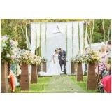 festa de casamento ao ar livre preço Parque do Carmo