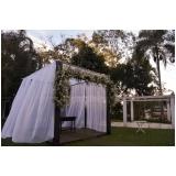 festa de casamento na chácara Belém