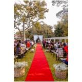 festa de casamento no sitio orçamento Anália Franco