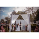 festa de casamento simples preço Parque Peruche