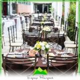 locação de espaço com buffet preço Casa Verde