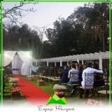 locação de espaço para casamento ao ar livre Jaçanã