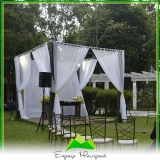 locação de espaço para casamento no campo preço Ponte Rasa