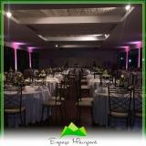 locação de espaço para casamento preço Jardim Guarapiranga