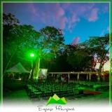 locação de espaço para festa de casamento no campo
