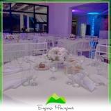 local para festa de casamento Água Rasa
