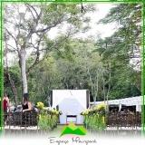 onde encontro espaço para casamentos descolados Parque Peruche