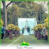 onde encontro sítio com capela para casamento Vila Prudente