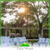 onde encontro sítio para casamento ao ar livre Vila Marisa Mazzei
