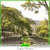 onde encontro sítio para casamento no campo Parque Anhembi