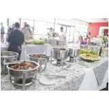 onde tem buffet de festa para confraternização Parque Anhembi