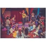 orçamento de espaço de festa infantil Chora Menino