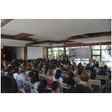 orçamento de espaço de festa para palestra Anália Franco