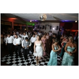 orçamento de espaço para festa de casamento Caieiras