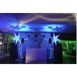 orçamento de espaço para festa de debutante Atibaia