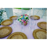 preço de buffet casamento ao ar livre Vila Esperança