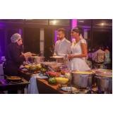 preço de buffet de casamento mini wedding Ponte Rasa