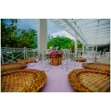 preço de buffet para casamento no aberto Parque Peruche