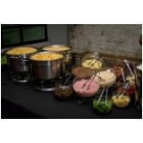 preço de buffet para casamento rústico Tremembé
