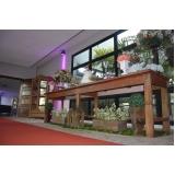 salão de festa para casamento rústico Vila Maria