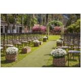 salão para festa de casamento na chácara Santana