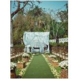 salão para festa de casamento no sitio Parque do Carmo