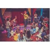 salão para festa infantil valores Jardim Guarapiranga