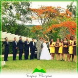 sítio para casamento ao ar livre Ponte Rasa