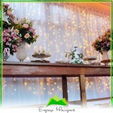 sítios com capela para casamento Santana